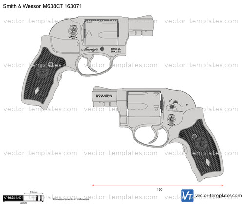 Smith & Wesson M638CT 163071