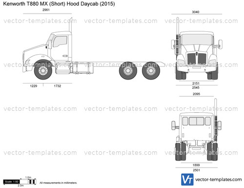 templates - trucks - kenworth