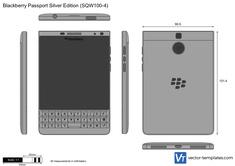Blackberry Passport Silver Edition (SQW100-4)
