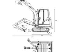 Caterpillar 302.4D Mini Excavator