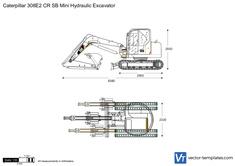 Caterpillar 308E2 CR SB Mini Hydraulic Excavator
