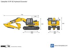 Caterpillar 313F GC Hydraulic Excavator
