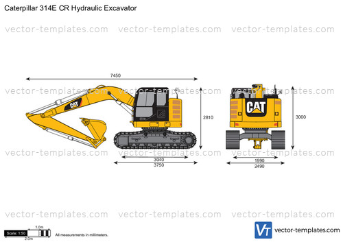 Caterpillar 314E CR Hydraulic Excavator