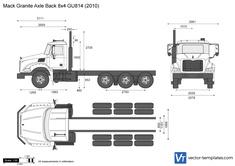 Mack Granite Axle Back 8x4 GU814
