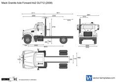 Mack Granite Axle Forward 4x2 GU712