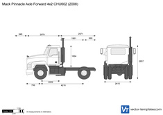 Mack Pinnacle Axle Forward 4x2 CHU602