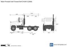 Mack Pinnacle Axle Forward 6x4 CHU613