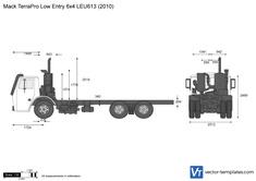 Mack TerraPro Low Entry 6x4 LEU613