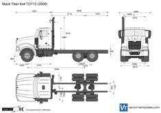 Mack Titan 6x4 TD713