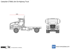Caterpillar CT660L 6x4 On-Highway Truck