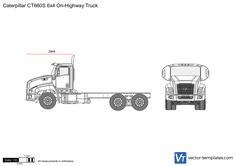 Caterpillar CT660S 6x4 On-Highway Truck