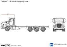 Caterpillar CT660S 8x6 On-Highway Truck