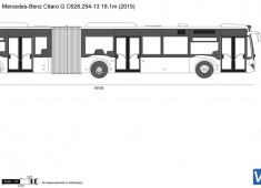 Mercedes-Benz Citaro G C628.254-13 18.1m
