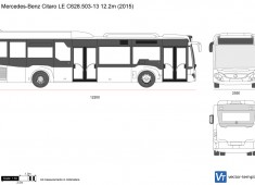 Mercedes-Benz Citaro LE C628.503-13 12.2m