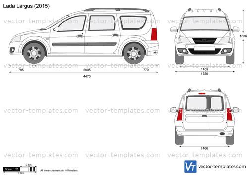 templates - cars - lada