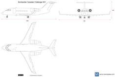Bombardier Canadair Challenger 601