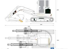 Caterpillar 303.5E Mini Excavator