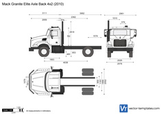 Mack Granite Elite Axle Back 4x2