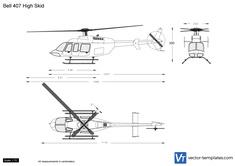 Bell 407 High Skid