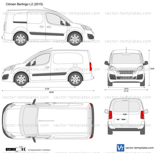 Templates Cars Citroen Citroen Berlingo L2