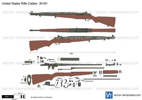 United States Rifle Caliber .30 M1