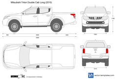 Mitsubishi L200 Double Cab Long