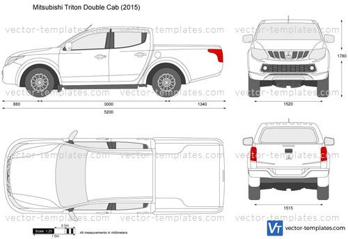 Mitsubishi Triton Double Cab