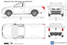Mitsubishi L200 Single Cab 2WD