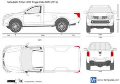 Mitsubishi L200 Single Cab 4WD