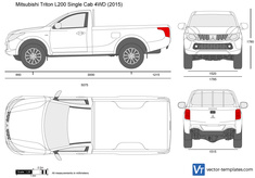 Mitsubishi Triton Single Cab 4WD