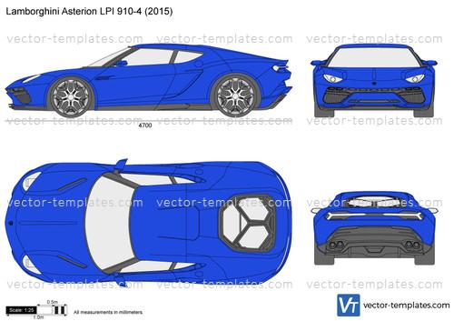 Templates Cars Lamborghini Lamborghini Asterion Lpi 910 4