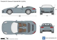 Porsche 911 Carrera S Cabriolet 991.2