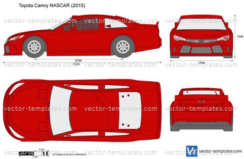 Templates - Cars - Toyota - Toyota Camry NASCAR