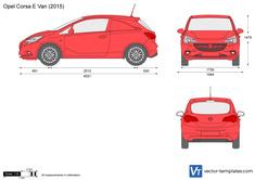 Opel Corsa E Van