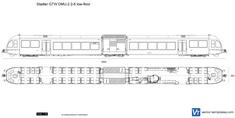 Stadler GTW DMU-2 2-6 low-floor
