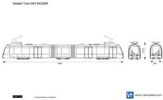 Stadler Tram 843 84300M