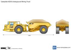 Caterpillar AD30 Underground Mining Truck