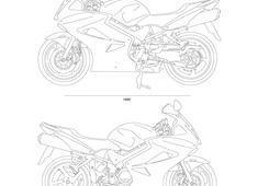 Honda VFR900 ABS