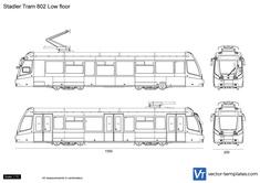 Stadler Tram 802 Low floor