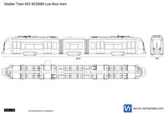 Stadler Tram 853 85300M Low floor tram