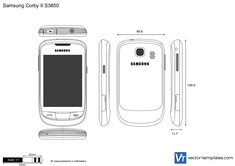 Samsung Corby II S3850