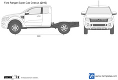 Ford Ranger Super Cab Chassis
