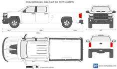 Chevrolet Silverado Crew Cab 6 feet 6 inch box