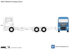 MAN TGM 6x4-4 Chassis