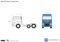 MAN TGS 6x2-2 Tractor