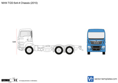 MAN TGS 6x4-4 Chassis