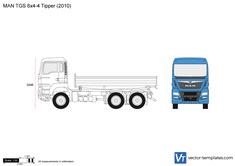MAN TGS 6x4-4 Tipper