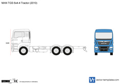 MAN TGS 6x4-4 Tractor