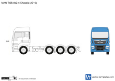 MAN TGS 8x2-4 Chassis