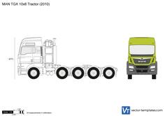 MAN TGX 10x6 Tractor